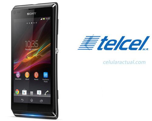 Sony Xperia L en México con Telcel