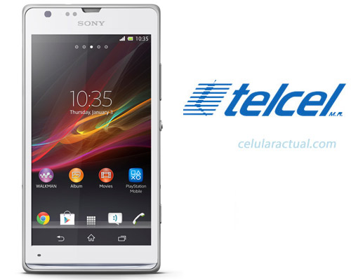 Sony Xperia SP en México con Telcel