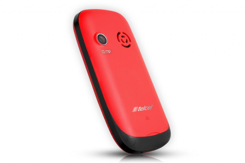 Nyx Xyn305 en México con Telcel color rojo cámara