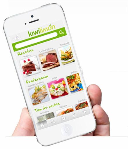 Kiwilimón tu app de recetas ya disponible para iPhone, pronto en Android