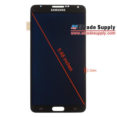 Galaxy Note III medidas panel frontal pantalla filtrada