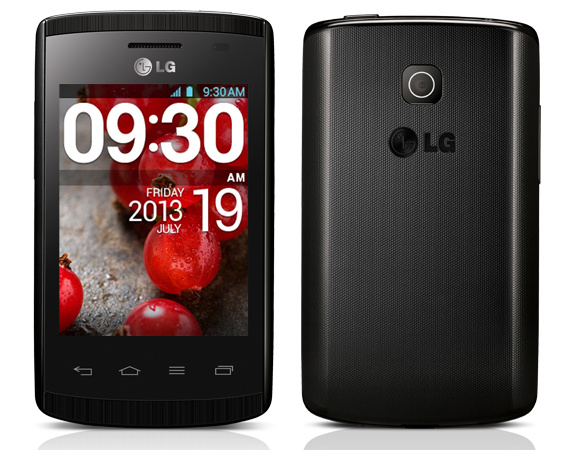 LG Optimus L1 II color negro
