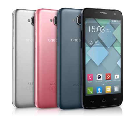 Alcatel One Touch Idol mini colores
