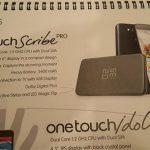Alcatel One Touch Scribe Pro con 6″ en pantalla y el Idol Mini se filtran
