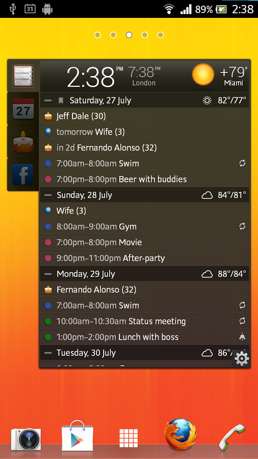 App All-in One Agenda