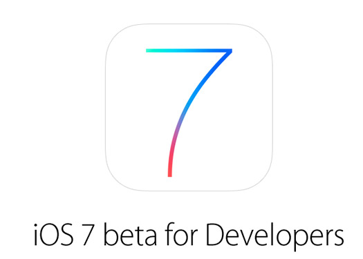 iOS 7 beta Logo