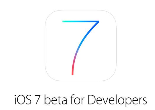 iOS 7 beta Logo