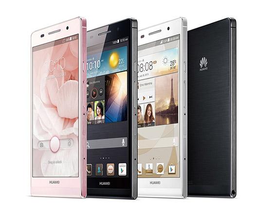 Huaqwei Ascend P6 colores