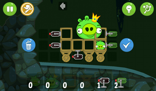 Bad Piggies en iPhone