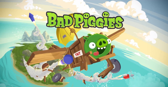 Bad Piggies gratis para iPhone, iPad y iPod Touch por tiempo limitado