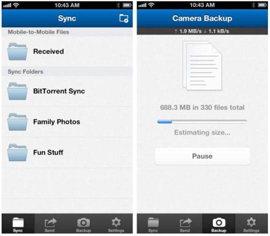 App BitTorrent