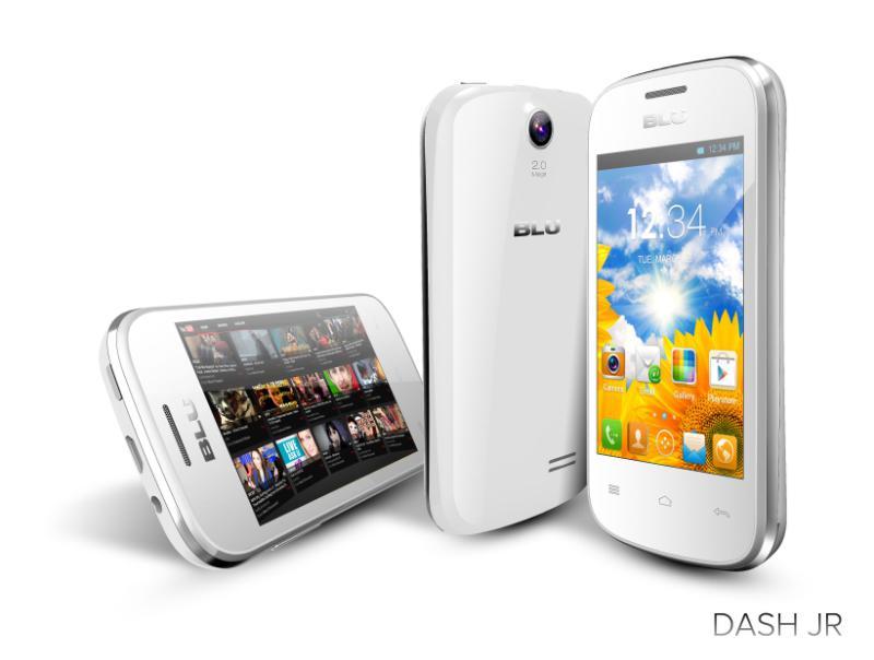 Blu Dash JR Android 2.3 color blanco