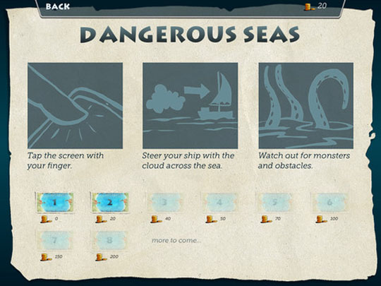 App Dangerous Seas