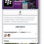 Facebook se actualiza para BlackBerry 10: nuevo diseño, Chat y más