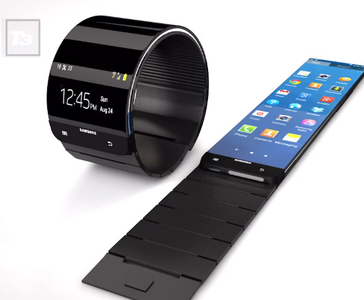 Samsung Galaxy Gear el smartwatch se confirman sus colores