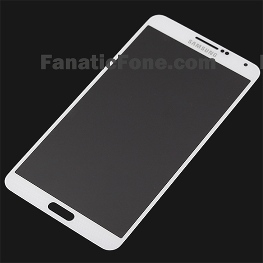 Galaxy Note III panel pantalla color blanco