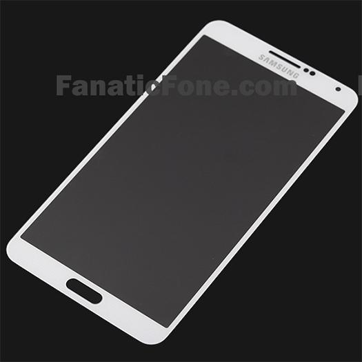 Galaxy Note III panel pantalla color blanco