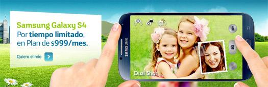 Samsung Galaxy S4 en Movistar México Dual cámara