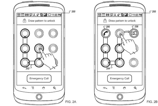 Google patenta ingresar a ciertas Apps con patrón de desbloqueo