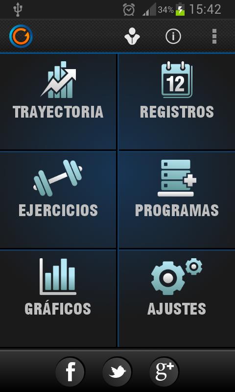 App Gymprovise Gimnasio Rastreador