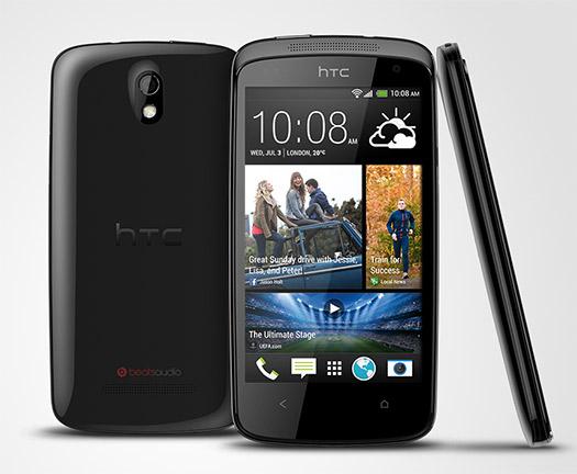 HTC Desire 500 color negro