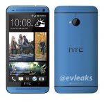 HTC One en color Azul primer imagen