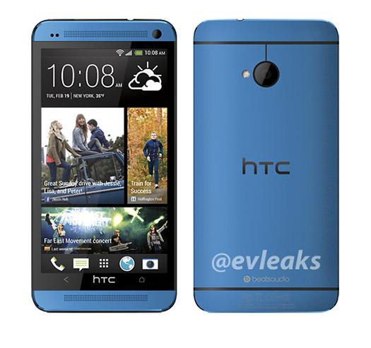 HTC One en Color Azul