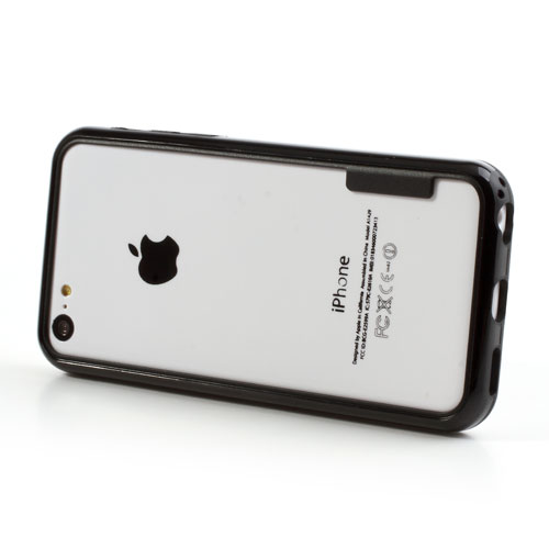 El iPhone 5C dummy final con bumper
