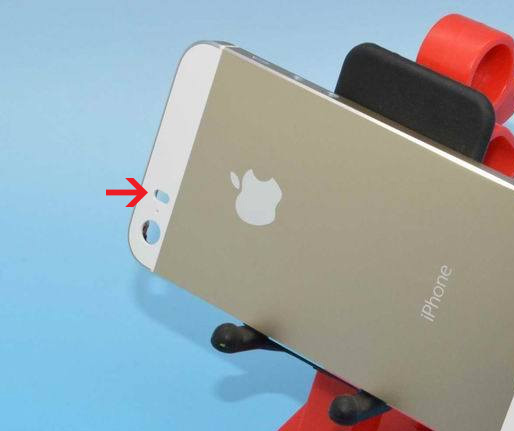 El iPhone 5S color golden con Flash LED Dual