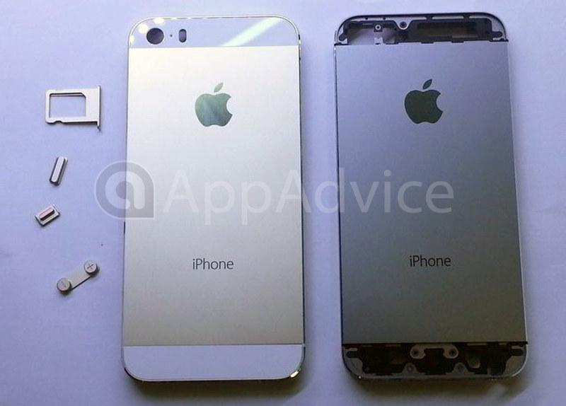 El iPhone 5S color dorado junto al iPhone 5