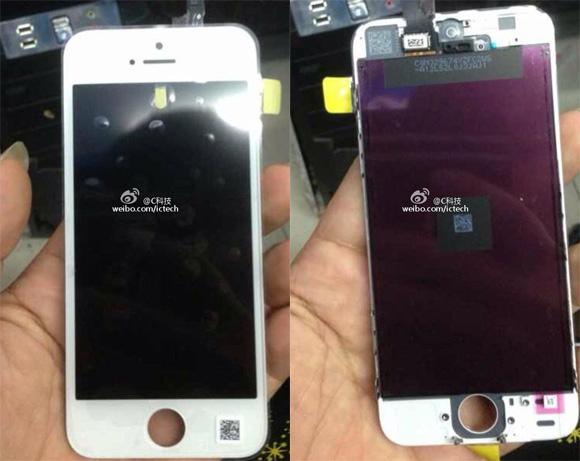 El iPhone 5C panel frontal pantalla