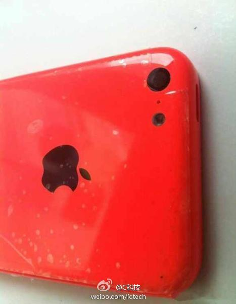 iPhone 5C en color Rojo Red
