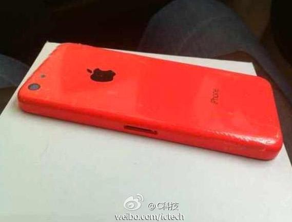 iPhone 5C en color Rojo Red case