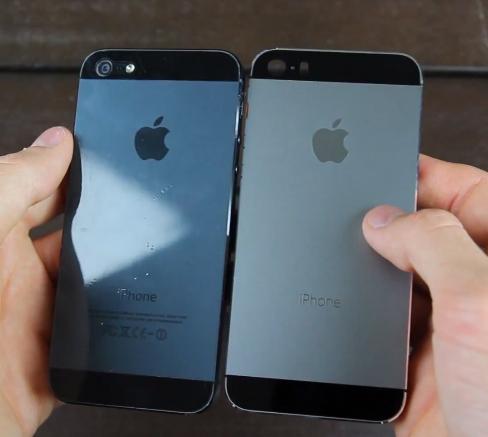 El iPhone 5S color gris grafito con negro Video
