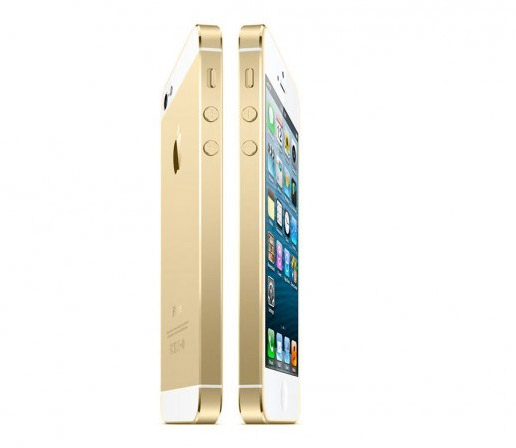 Apple  iPhone en color dorado chanpagne