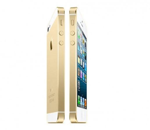 Apple iPhone en color dorado chanpagne