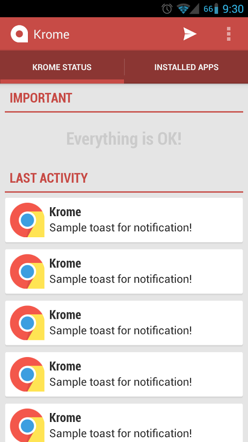 App Krome
