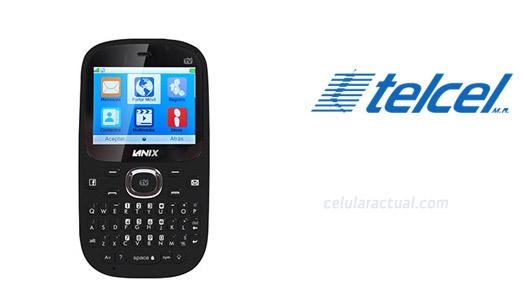Lanix LX7  con TV y tecla a Facebook en México con Telcel