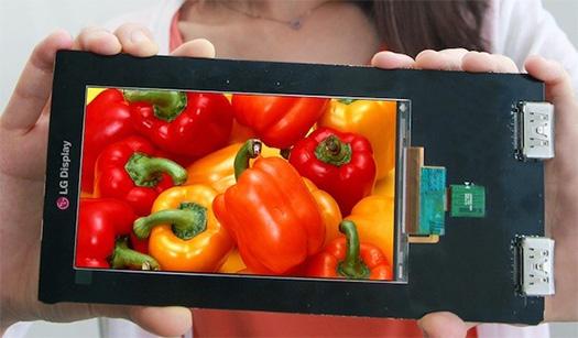 LG display screen 5.5 inchs Quad HD
