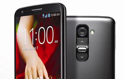 LG G2 botones traseros