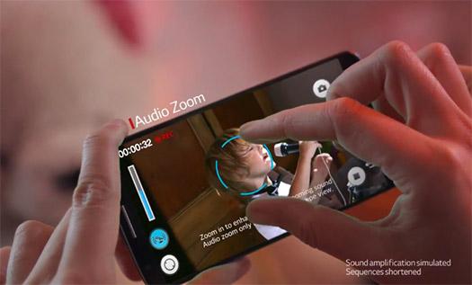 Video LG G2 Audio Zooming