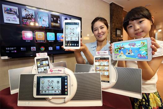 LG Homeboy sistema con tablet