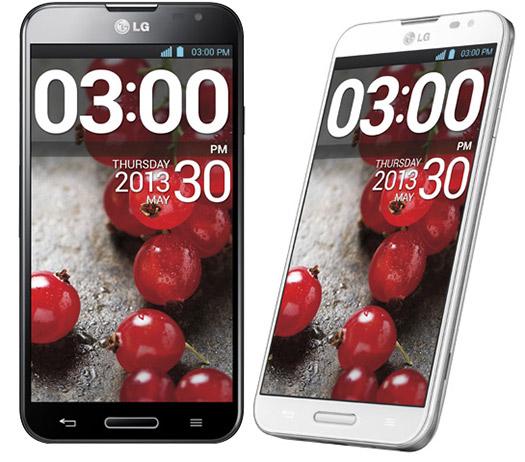 """LG Optimus G Pro E980 LTE para México pantalla 5.5"""" color blanco y negro"""