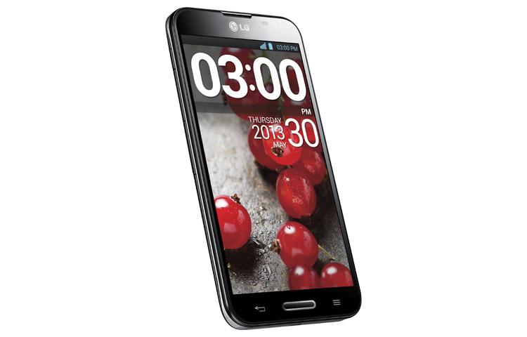 LG Optimus G Pro E980 LTE para México de lado