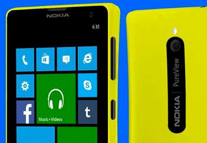 Nokia Lumia 729 detalle