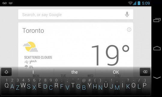 Minuum Keyboard ya disponible para Android