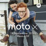 Motorola Moto X será presentado en México el 19 de septiembre