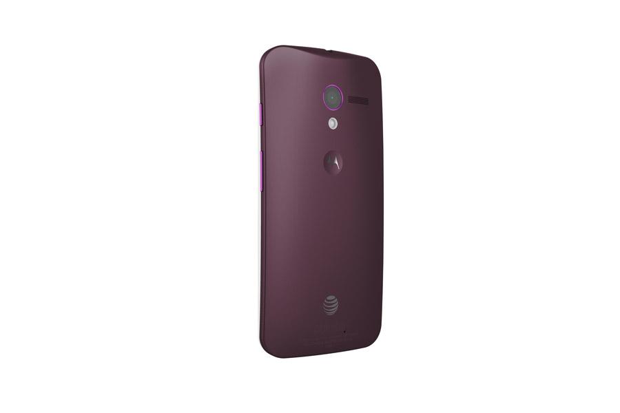 Motorola Moto X color guinda