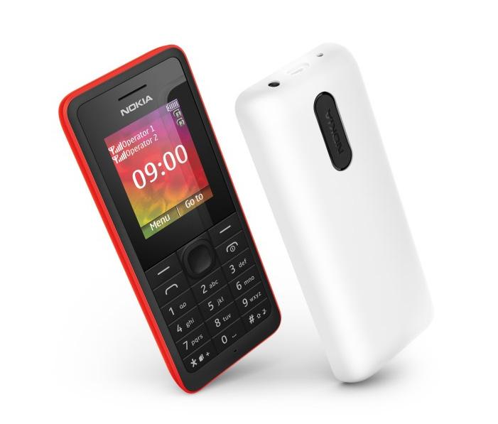 Nokia 106 y 107 dual SIM son presentados oficialmente