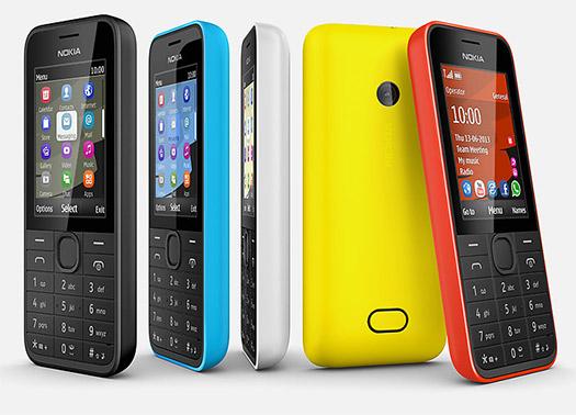 Nokia 208  en México colores